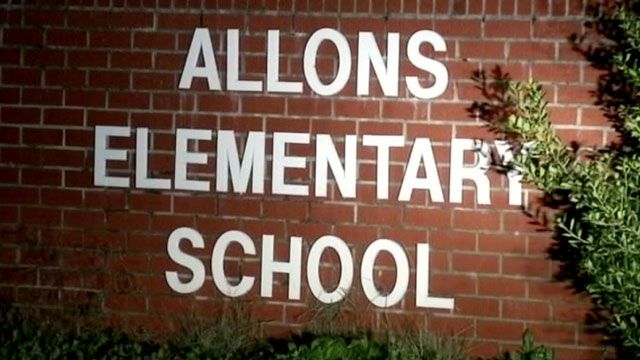 """PHOTO: A teacher from Allons Elementary has been suspended after writing """"Stupid"""" on a students forehead in permanent marker."""