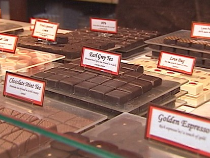 VIDEO: Pastry Chef Jacques Torres melts and swirls fine chocolate into lovers treats.