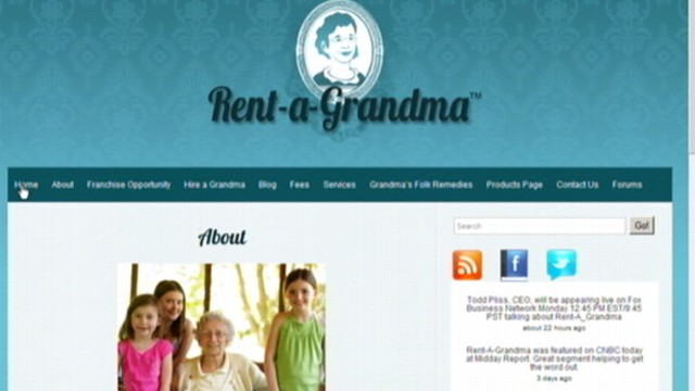 VIDEO: Online agency offers women 50 years and older for hire as nannies, housekeepers.
