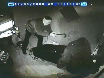 VIDEO: Surveillance video shows three masked men stealing medical marijuana.