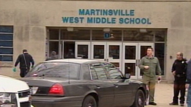 VIDEO: Student, 15, in custody after injuring classmate before school started.
