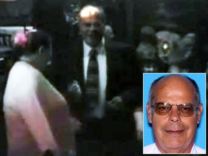 Video: Murderer caught on tape dancing moments after killing his father.