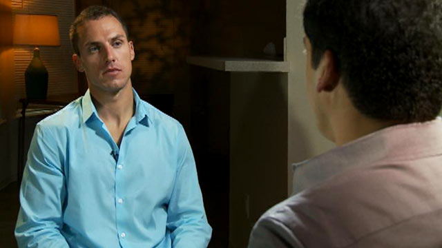 """PHOTO: Anthony Curcio in an interview with Gio Benitez for ABC News """"20/20."""""""