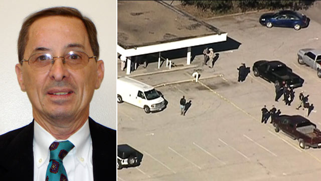 PHOTO: A shooting at the Kaufman County Courthouse left a assistant district attorney dead, Jan. 31, 2013.