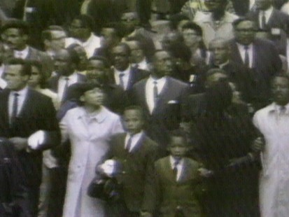 VIDEO: Memphis march honors Martin Luther King Jr.