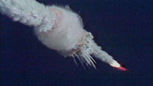 VIDEO: Space shuttle Challenger explodes
