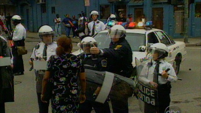 VIDEO: Cincinnati's mayor imposes a nighttime curfew and calls for an end to the riots.