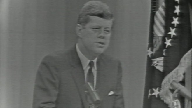 VIDEO: President Kennedy announces the establishment of the Peace Corps.