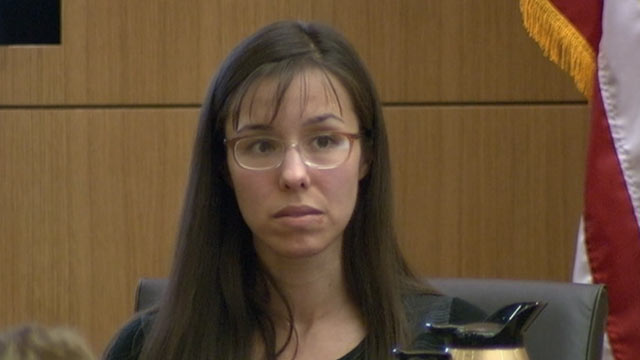 PHOTO: Jodi Arias continued to testify in court on March 5, 2013.