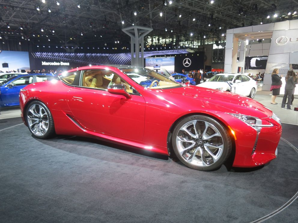 PHOTO: The 2018 Lexus LC 500 boasts a 5.0-liter V8 engine. Its expected to hit dealers in late 2017. <p itemprop=