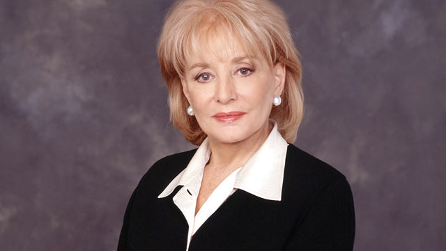 PHOTO: Barbara Walters poses for a portrait for the ABC NEWS studio.