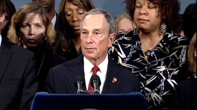 VIDEO: NYC Mayor Michael Bloomberg on Epidemic of Gun Violence