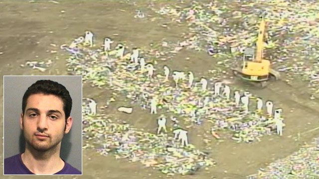PHOTO: Authorities spent several days searching for Tamerlan Tsarnaevs laptop in a New Bedford landfill near the University of Massachusetts Dartmouth campus, where younger brother Dzhokhar Tsarnaev attended college, sources told ABC News.