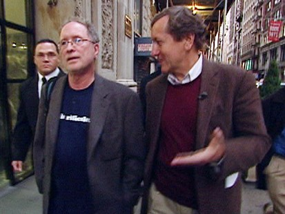 Bill Ayers and Brian Ross