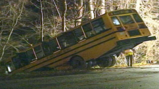 Bus Crashes Carrying Basketball Team