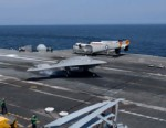 VIDEO: X-47B Pilotless Drone Successfully Lands on Carrier Deck