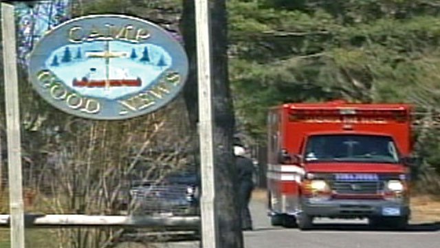 Photo: Ambulance outside Camp Good News