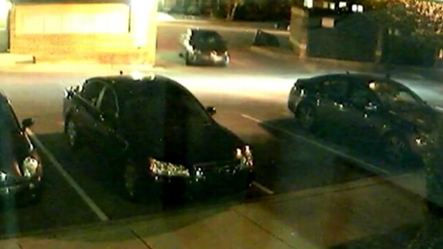 VIDEO: Police search for suspects who held woman at gunpoint at her apartment complex.