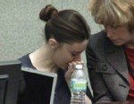 VIDEO: Casey Anthony cried in court as witness described her daughter's remains.
