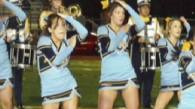 PHOTO:An article in River City High Schools yearbook about the short skirts of the cheerleaders has prompted school officials to stop production on the yearbook.
