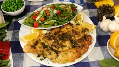 PHOTO: Trisha Yearwood's Chicken Piccata