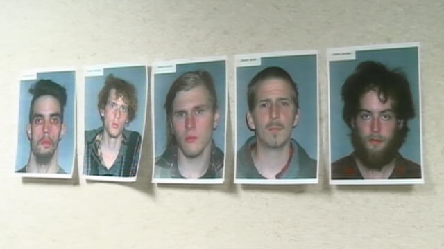PHOTO: The FBI released photos of five men who allegedly plotted to blow up a bridge in Ohio, seen here.