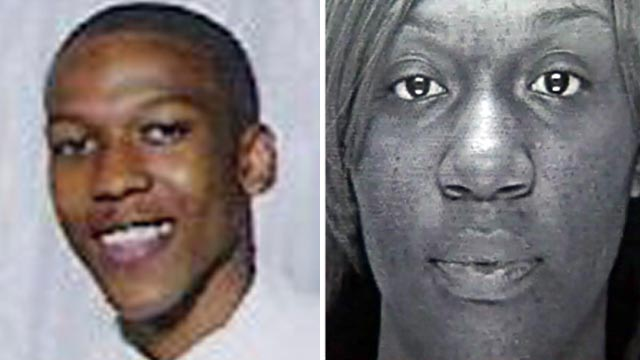 PHOTO:Corey White, left, and ex-girlfriend London Eley are seen in these undated file photos.