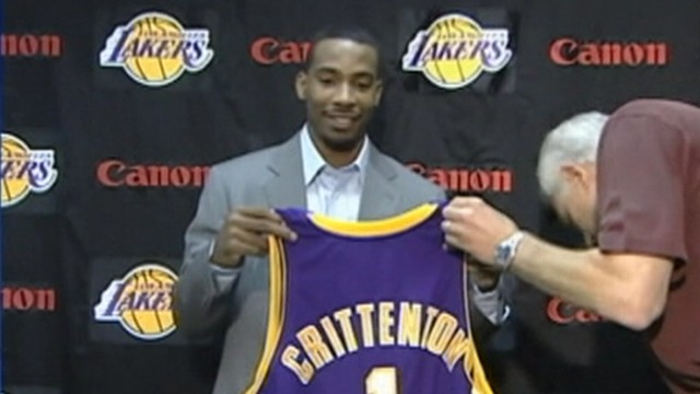 VIDEO: Javaris Crittenton arrested in connection with death of a 23-year-old woman.