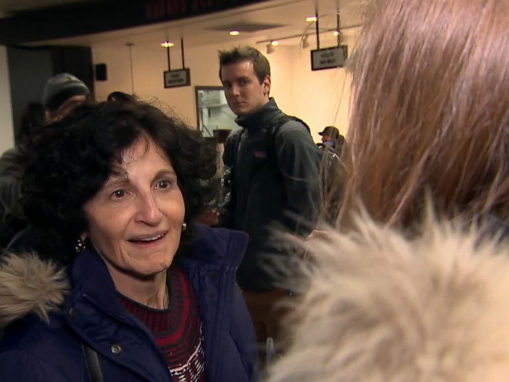 PHOTO: Shelia Mihalovits said she remained calm even as the plane veered off the runway.