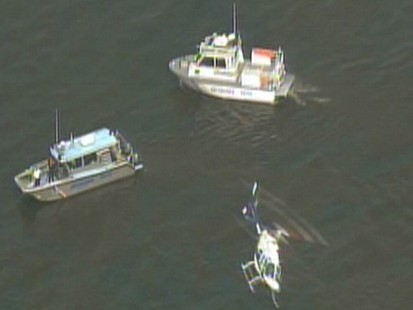 Video: Two people missing after a tourist boat collides with a barge.