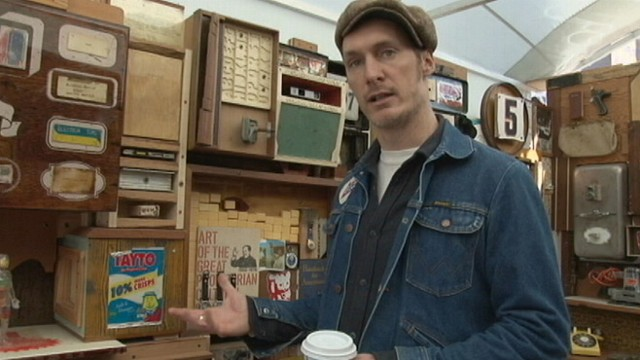 VIDEO: ABC?s Susan Shin shows you the story of this Brooklyn artist and his dumpster art.