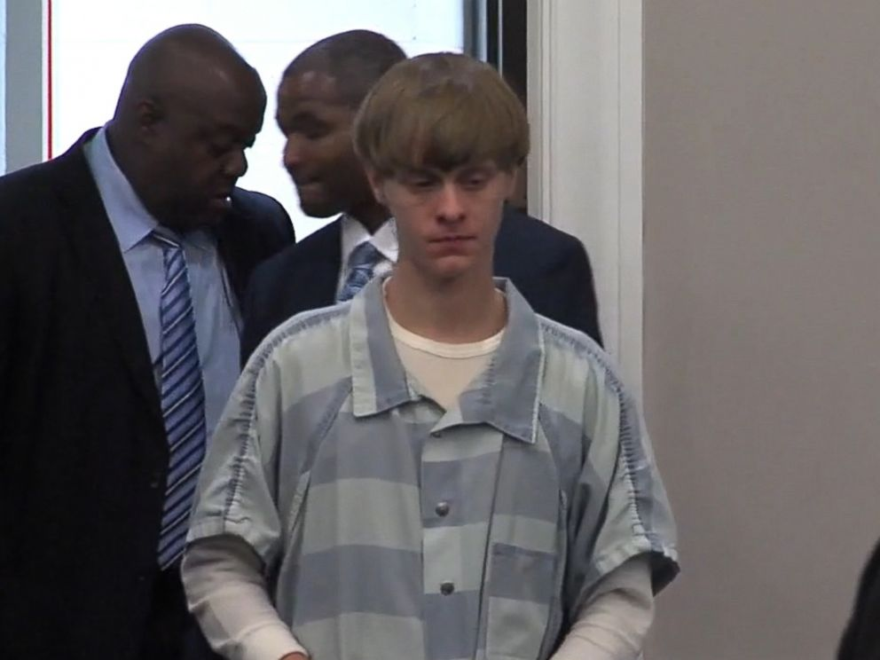 PHOTO: Dylann Roof appeared in court on July 16, 2015 in Charleston, S.C.
