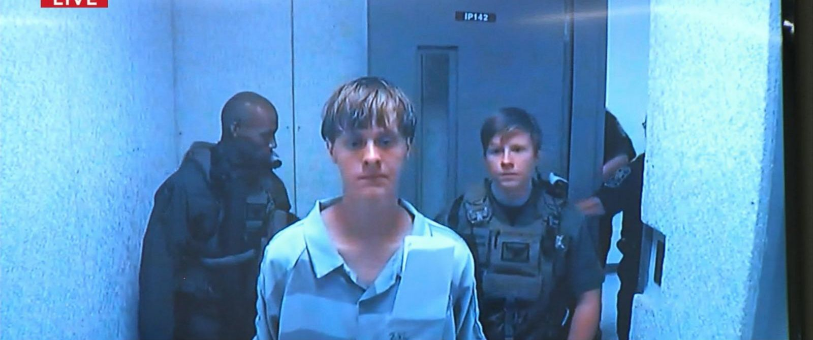 PHOTO: Dylann Roof is seen in custody on June 19, 2015.
