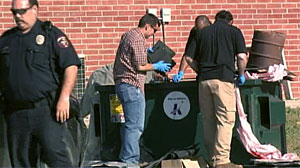 Photo: FBI Agents Search Trash At Mosque Attended by Hasan