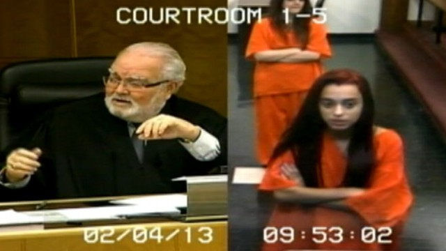 VIDEO: Penelope Soto was sentenced to 30 days in jail after she cursed at Judge Jorge Rodriguez-Chomat.