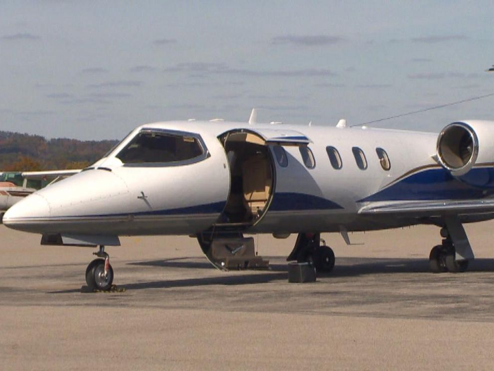 PHOTO: The private jet used by attorney Michael Fuller.