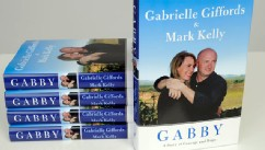 "PHOTO: Rep. Gabrielle Giffords and her husband, retired astronaut Mark Kelly's new book titled ""Gabby: A Story of Courage and Hope,"" is in bookstores on Nov. 15th."