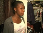 PHOTO: Fifteen-year-old Doyin Oladipupo hid in her parents walk-in closet, crouching under a rack of clothes, when intruders entered her home. She stayed on the line with the 911 dispatcher as the burglars entered the room.