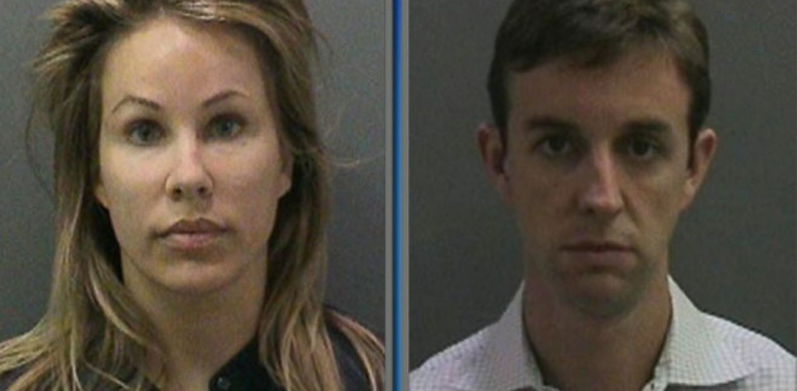 PHOTO: At left, Jill Easter and at right, Kent Easter, of Irvine, Calif.