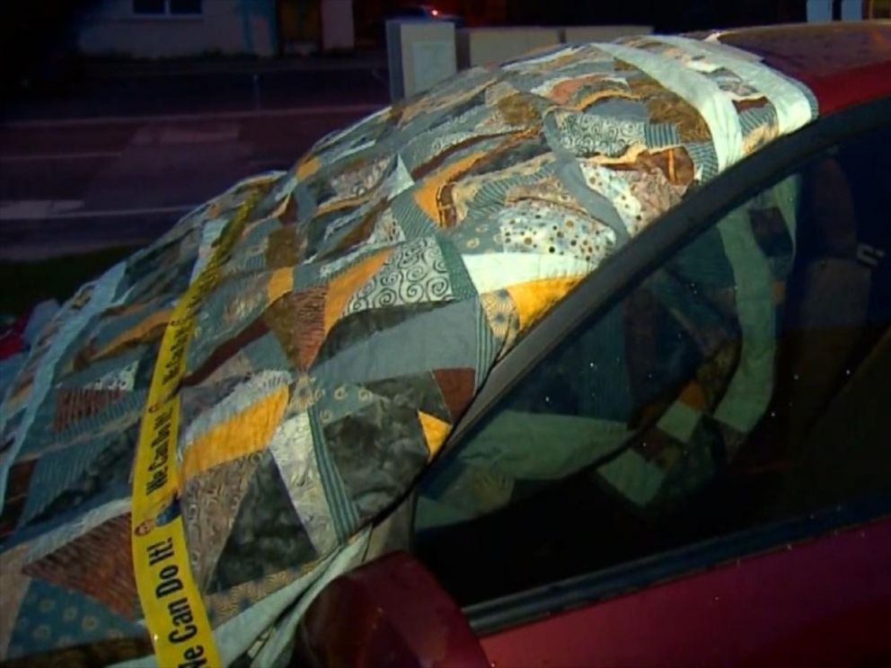 Hail Mats For Cars >> Texas Residents Take Extreme Measures to Protect Cars From Golf Ball-Sized Hail - ABC News