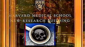 Photo: Harvard University Researcher Says Coffee Was Poisoned on Purpose: University Police Are Investigating How a Potentially Fatal Chemical Got Into the Coffee