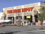 PHOTO: A man cut his own arms with handsaws at a Home Depot in West Covina, a suburb east of Los Angeles.