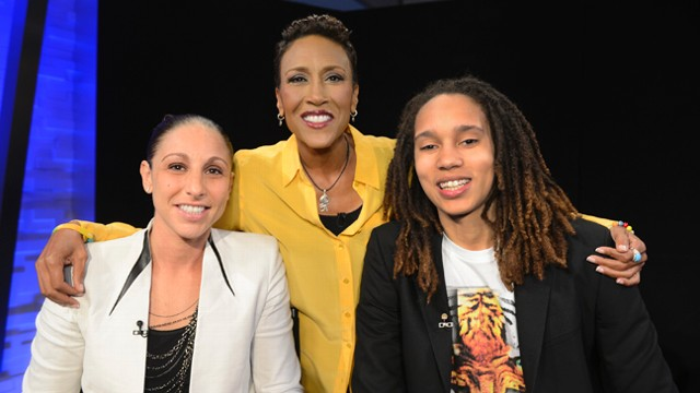 VIDEO: Brittney Griner and Diana Taurasi