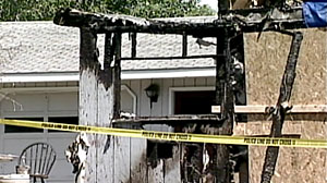 Photo: Arson Attack on Ithica Cop After Fatal Shooting: Cop Takes Family Out of Town After Home Burned Down, Chief Calls It Attack On All Police Officers