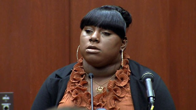 VIDEO: Rachel Jeantel testifies about her conversation with Martin on the night he was fatally shot.