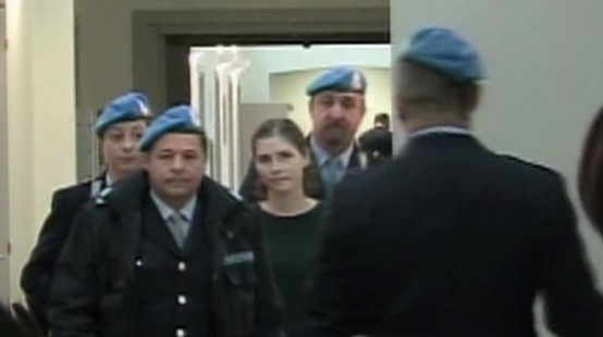 Video: Amanda Knox indicted for slander.