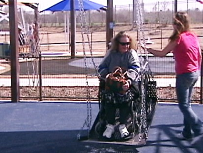 Video: Texas park carters to special needs children.