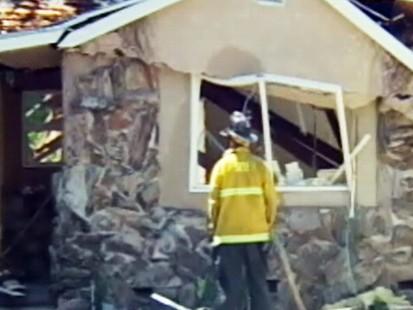 Video: Firefighters hurt in gas leak explosion.