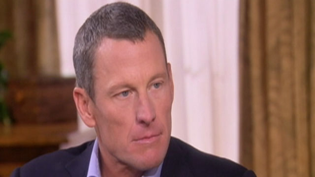 PHOTO:Lance Armstrong, formerly cyclings most decorated champion and, confessed to cheating for at least a decade.
