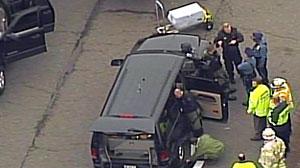Photo: Suspicious package found at Logan: Suspicious Item Discovered At Delta Cargo Area